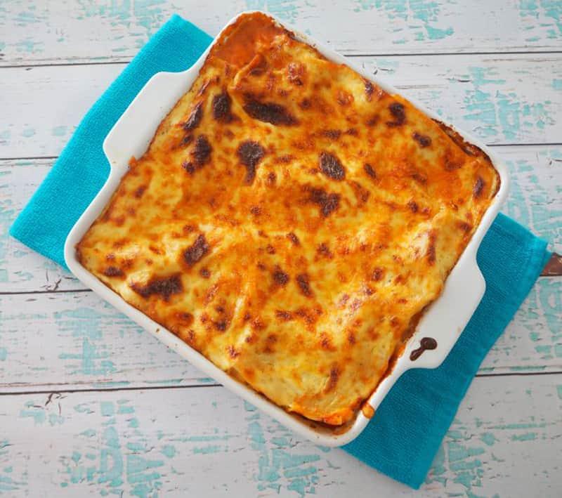 Family dinner: Easy Lasagne recipe