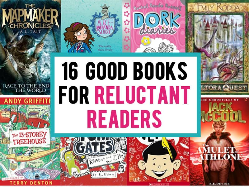 16 awesome book series for reluctant readers of all ages