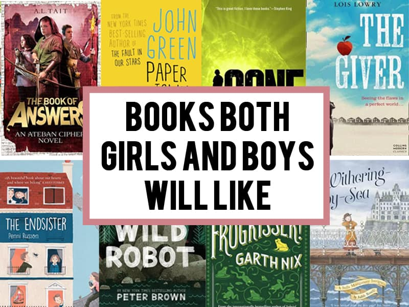 16+ must-read books both girls and boys like (kids aged 7+)