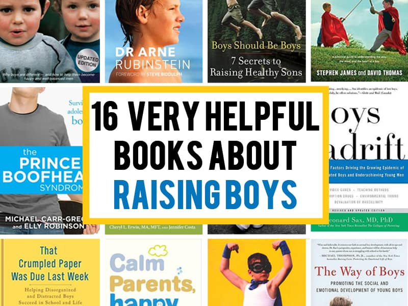 16 very helpful books about raising boys