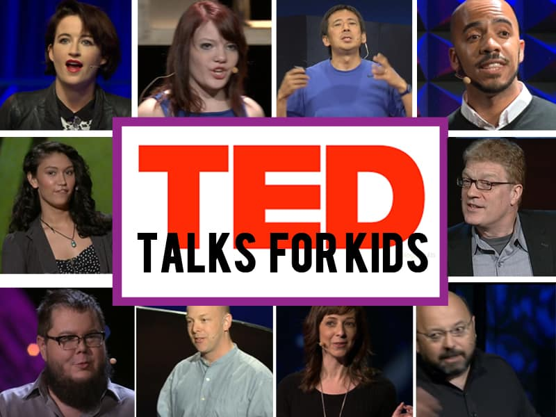 16 inspiring TED Talks for kids