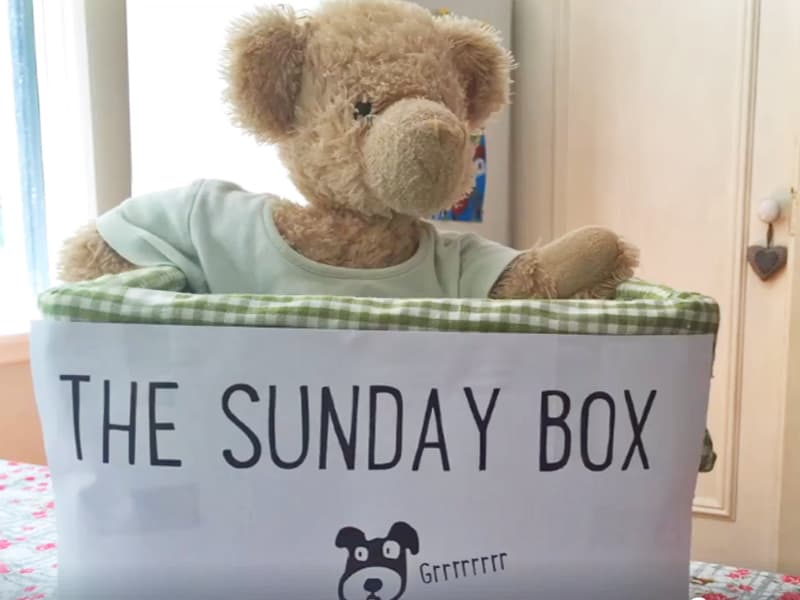 The Sunday Box technique: The solution to messy kids