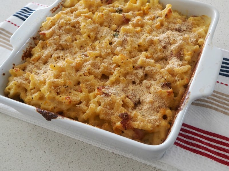 Mac and cheese - the best dish for a little comfort-food