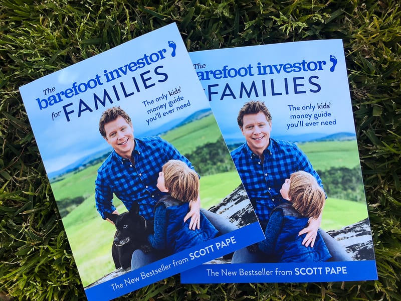 WIN one of two copies of The Barefoot Investor for Families – CLOSED