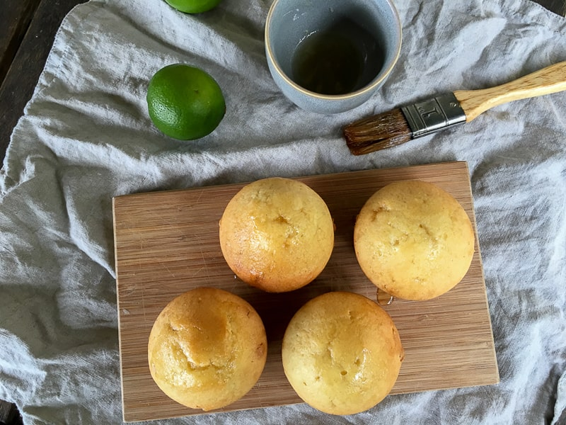 Lime syrup cupcakes recipe – a fail-proof treat