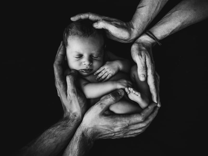 Newborn via Unsplash
