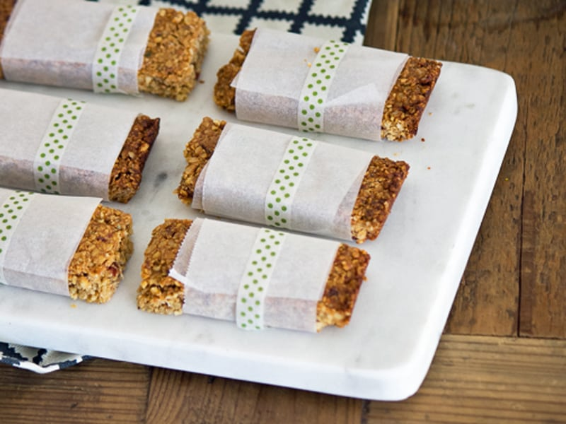 Go anywhere breakfast bars for busy times