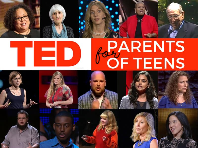 16 powerful TED talks for parenting teens