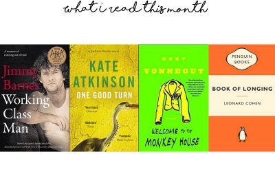 What I read this month (January 2019)