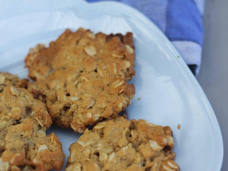 Muesli cookies – or biscuits, but probably cookies