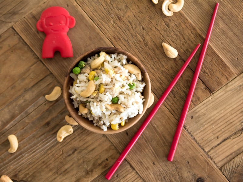Egg and veg fried rice - your new go-to midweek meal