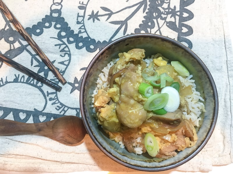 Oyakodon - such a great midweek meal