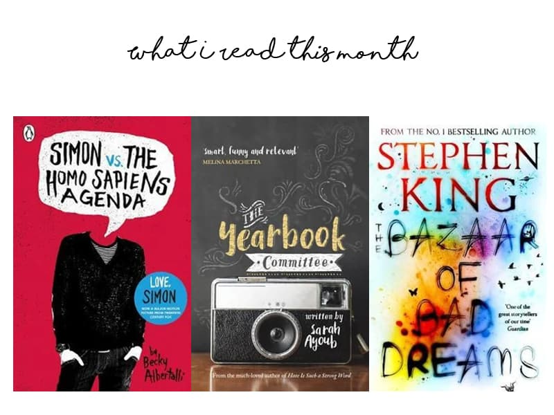 What I read this month July 2019