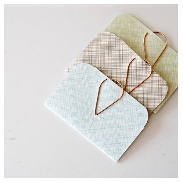 Gifts for teens - little notebooks from etsy