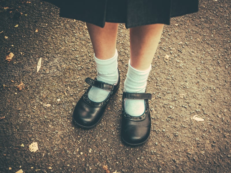 Back to school overwhelm brought on by school shoes