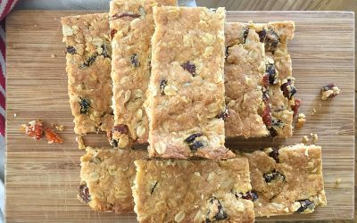 Quick homemade muesli bars