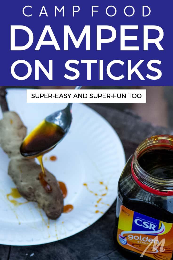 Damper on sticks recipe