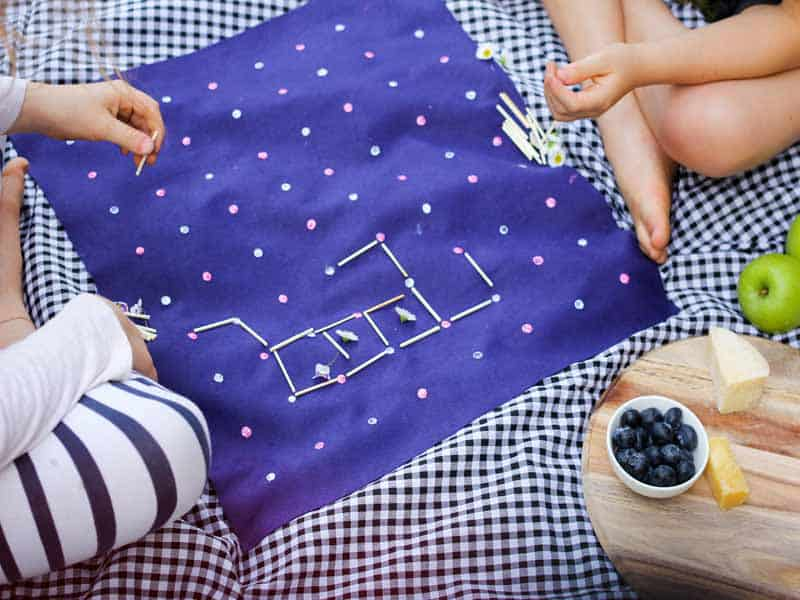 How to play squares + make your own DIY squares game board