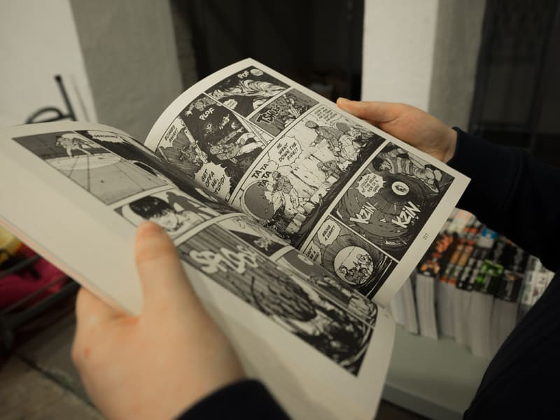 Things for teens to do at home - create a comic strip