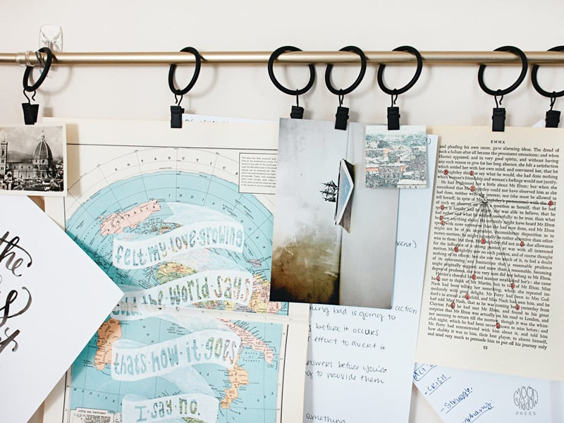 Things for teens to do at home - mood board