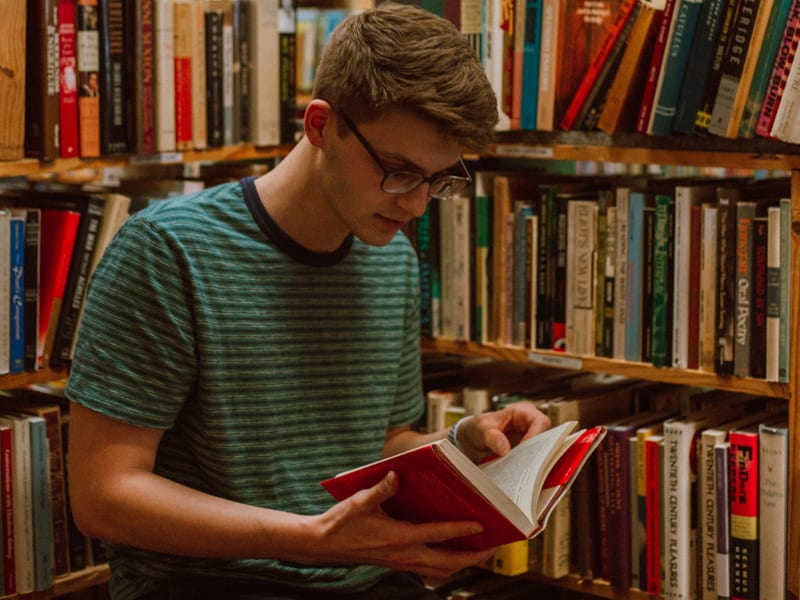 Reading list for teens - recommended books high school years