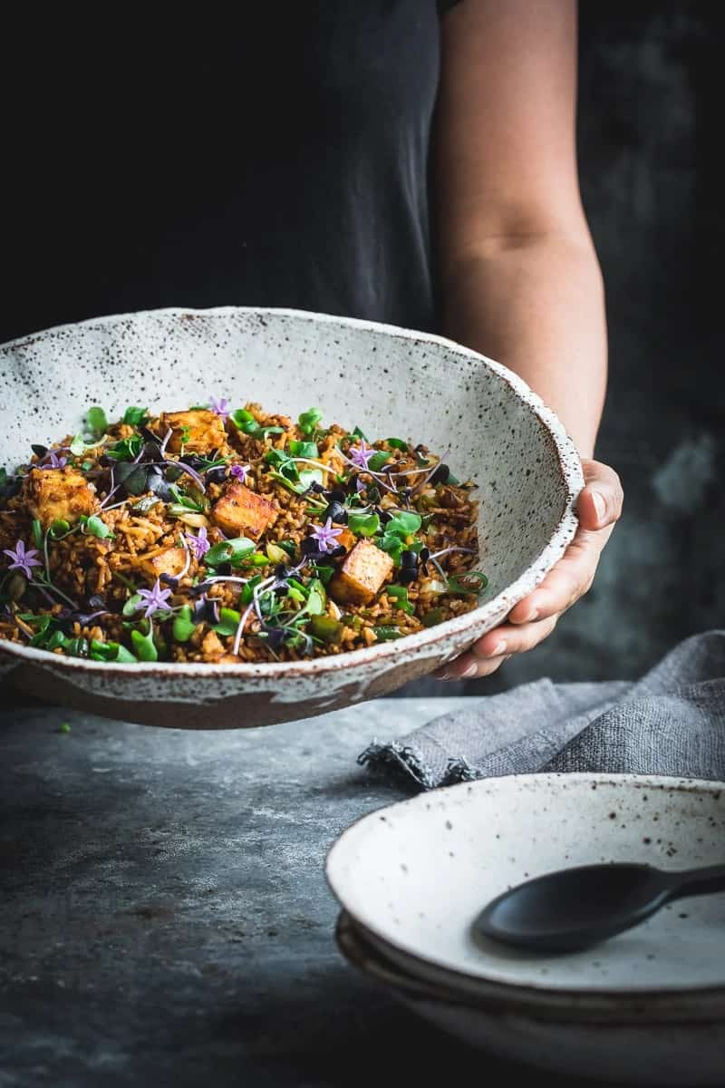 Cook Republic paneer fried rice