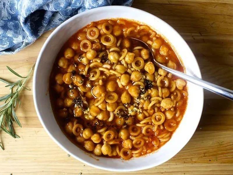Pasta e ceci via Smitten Kitchen - such a delicious addition to our quick dinners list