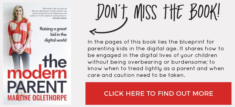 The Modern Parent by Martine Oglethorpe