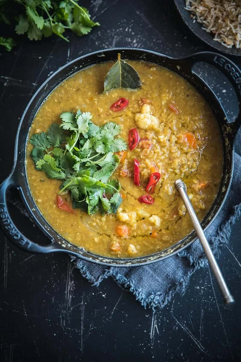This dal from Cook Republic is a fabulous addition to this quick dinners list