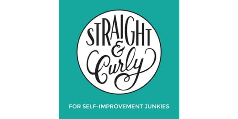 One of my favourite wellbeing podcasts is Straight and Curly