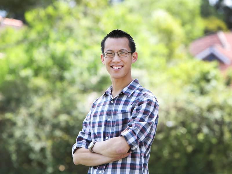 Eddie Woo can help if your teen hates maths