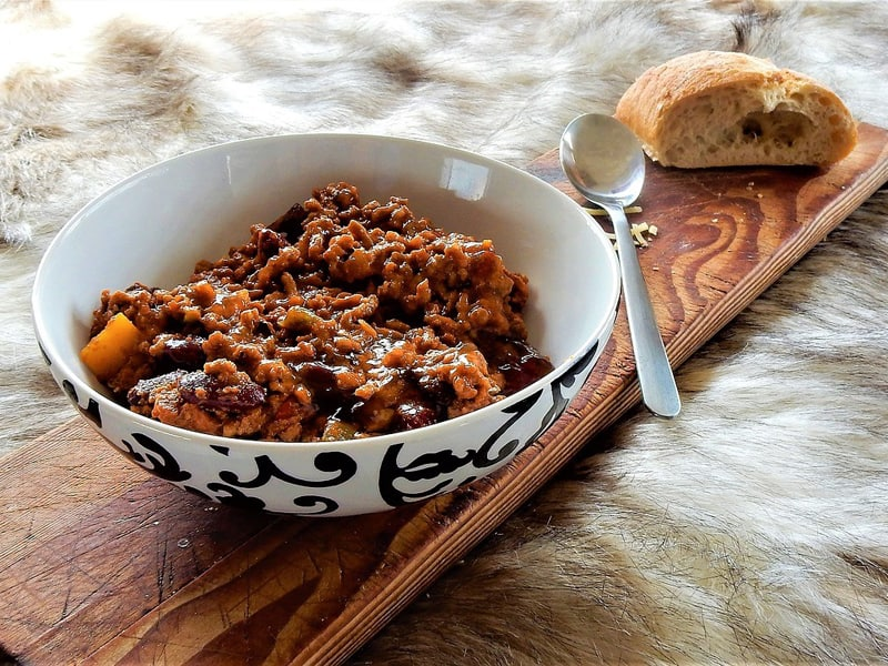 Rice cooker recipes - chilli is a great standby
