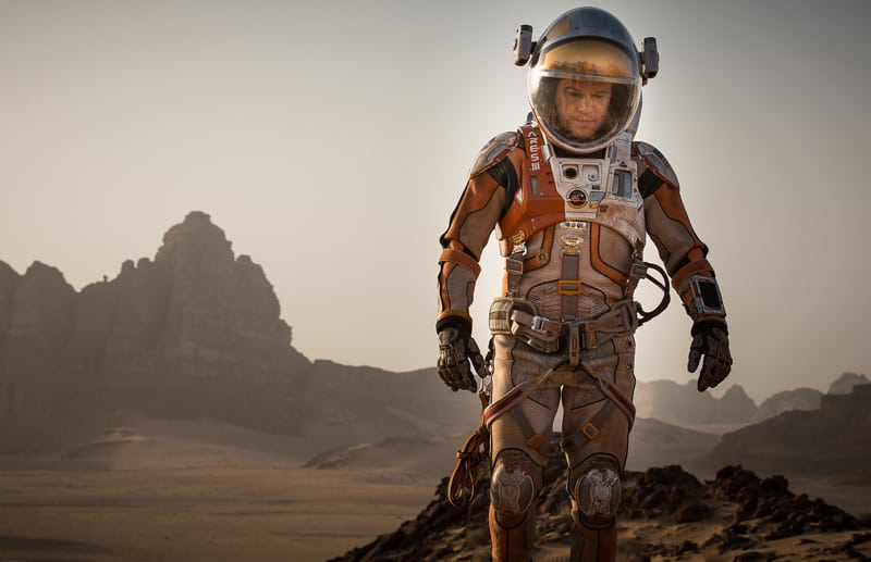 The Martian a good movie for teens