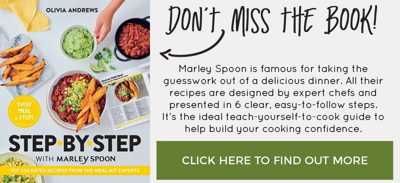 Don't miss Step By Step With Marley Spoon