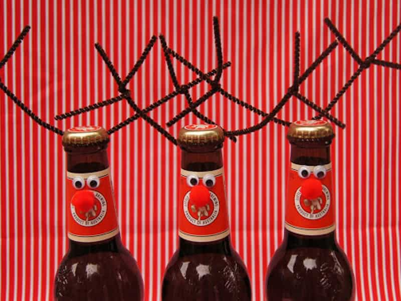Don't get us started on how cute this reinbeer is…