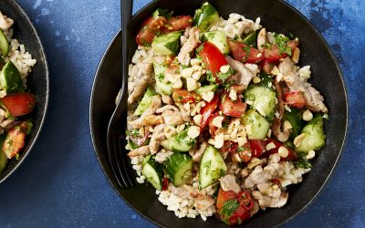 Marley Spoon's Thai-style pork salad