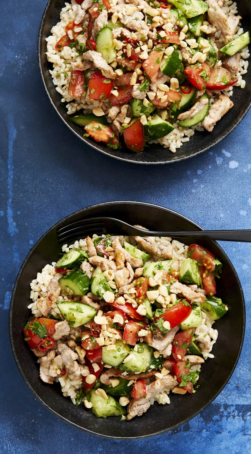 Thai-style pork salad with Marley Spoon