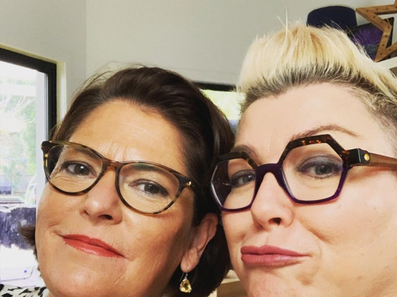 Kim and Kayte - The Hot Flush - a fab podcast about perimenopause