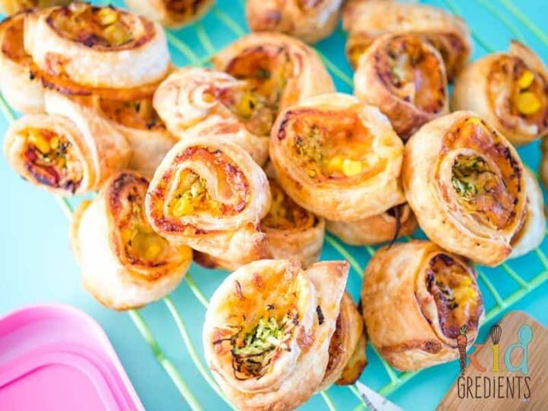 3-veggie lunchbox scrolls by Kidgredients