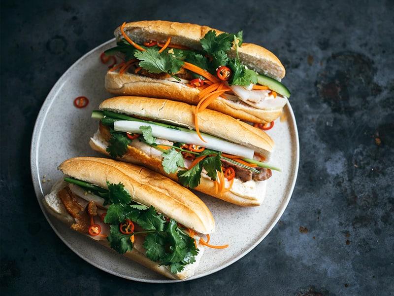 banh mi is a great lunchbox sandwich recipe
