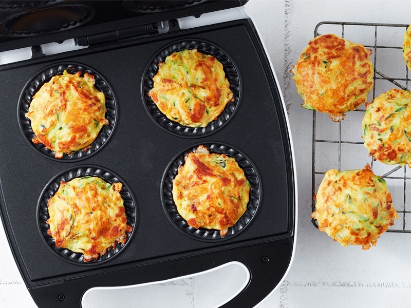 Lunchbox ideas: pie maker zucchini muffins