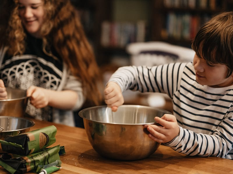 Baking is a great way for kids to earn money outside the home