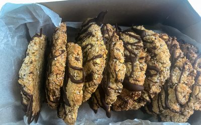 Oat, LSA and chia biscuits (olsac biscuits are a thing)