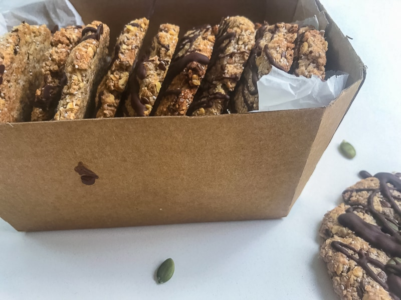 Chia biscuits