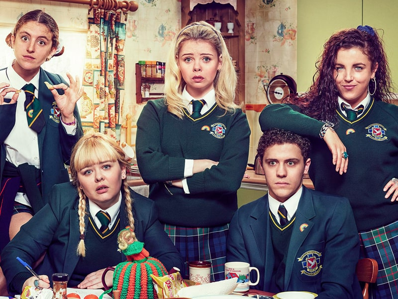 Derry Girls should be on the list of great shows for tweens