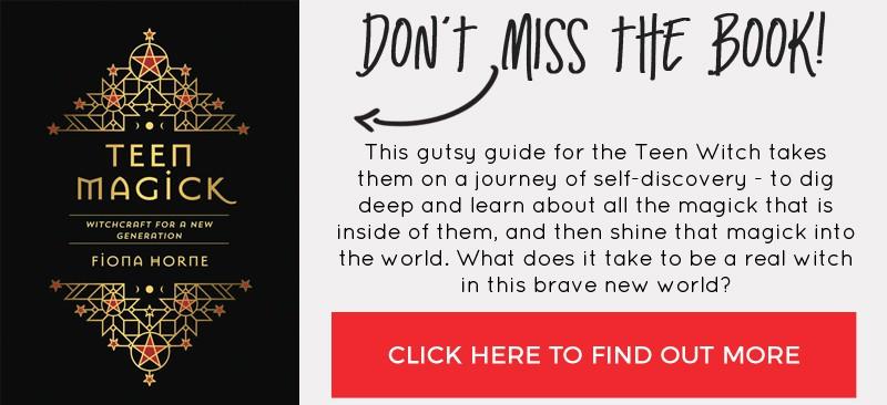Don't miss Fiona Horne's Teen Magick