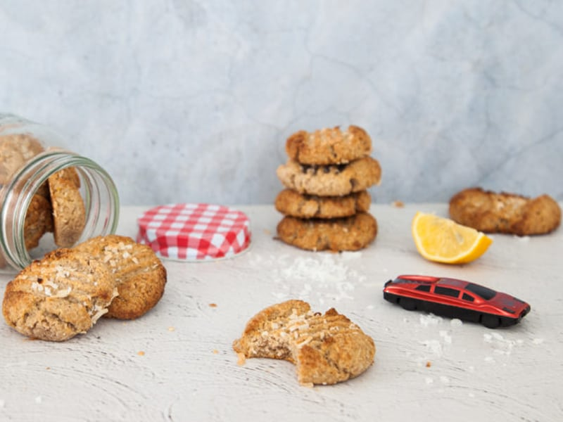 Lemon cookies from I Quit Sugar