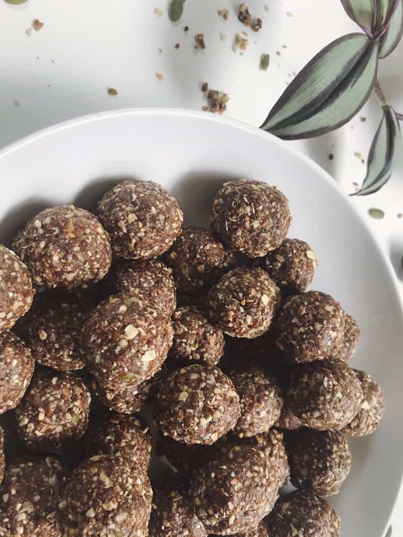 Lunchbox bliss balls recipe