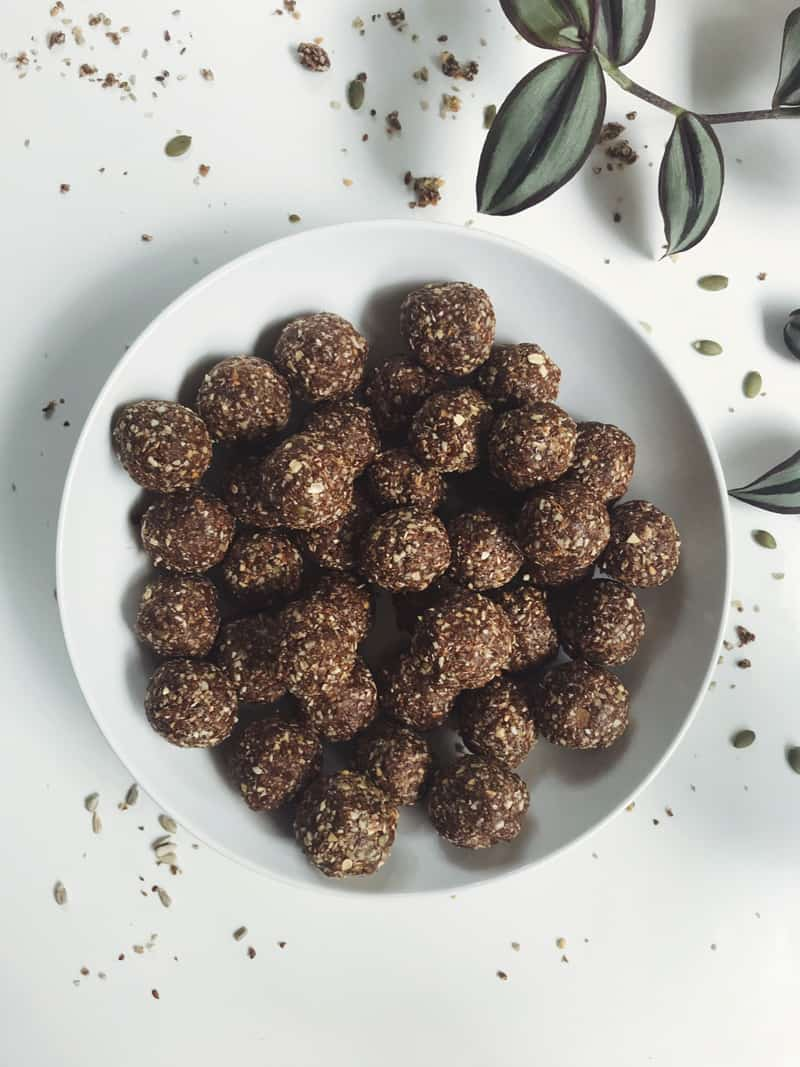 Bliss balls for the lunchbox