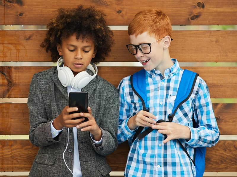 What's the 'right' age for kids to get a phone?